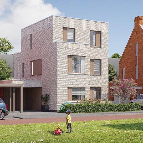 Woningtype Vrijstaande woningen | Woningtype villa R2 in het project Rijnvliet Midden fase 4 A te Utrecht