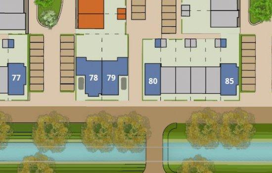 Woningtype De Singel in het project Hof van Leyland te Woerden