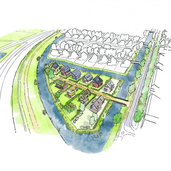 Woningtype kavels Breecamp-Broeklanden in het project Kavels gemeente Zwolle te Zwolle