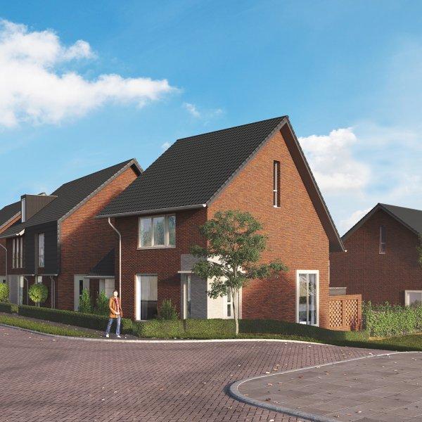 Woningtype Galjoen 2-onder-1-kapwoning in het project Frankhuis Fase 8 te Zwolle
