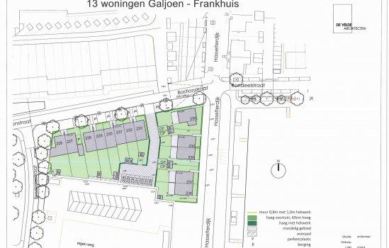 Woningtype Galjoen hoekwoning in het project Frankhuis Fase 8 te Zwolle