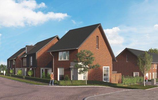 Woningtype Galjoen tussenwoning in het project Frankhuis Fase 8 te Zwolle
