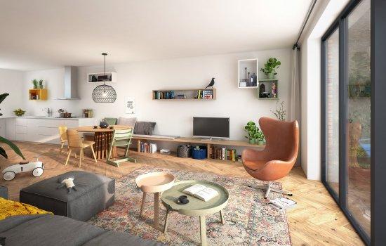 Woningtype Fitzgerald in het project HomeTown te Utrecht