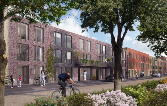 Woningtype Porter in het project HomeTown te Utrecht