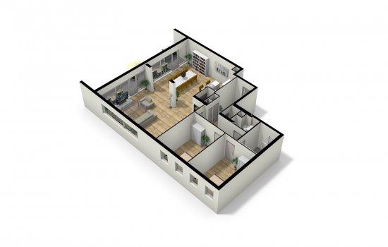 Woningtype Penthouses in het project Dok7 te Amsterdam