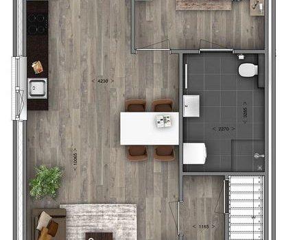 Woningtype Kortenaer in het project Oosterhuisen | Torenvalk te Baflo