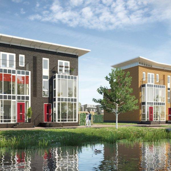 Nieuwbouwproject Singelwoningen fase 4, 2/1 kap in Groningen