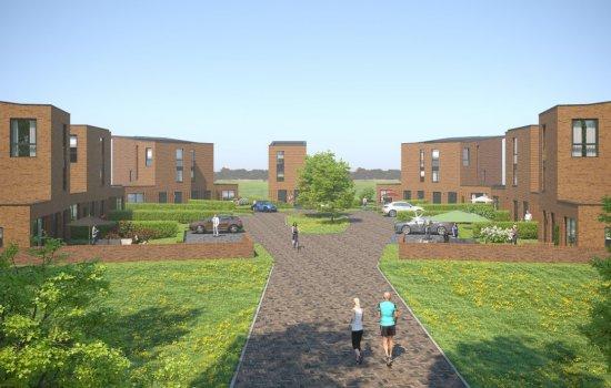 Woningtype Hertogin tweekapper in het project Terpen te Zwolle