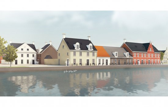 Woningtype Type 1 in het project Havenkwartier fase 3 te Blauwestad