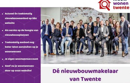 Woningtype 9 huur appartementen in het project D' Oale Bank te Oldenzaal