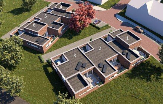 Woningtype Patio woning in het project Medaillon 6 Patiowoningen te Hengelo