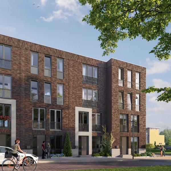 Woningtype Stadsvilla hoek in het project Signatuur te Groningen