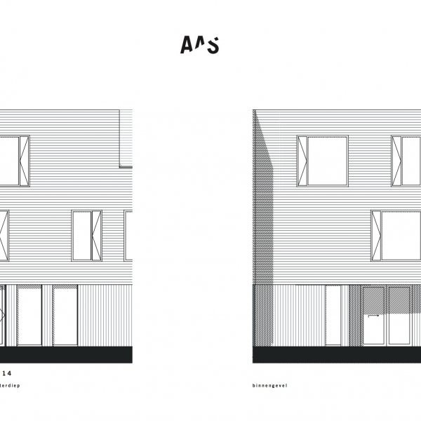 Lunettenhof - 3 laagse woning - tussen, bouwnummer 14