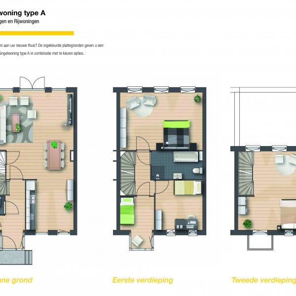 Singelwoning - Hoekwoning, bouwnummer 25