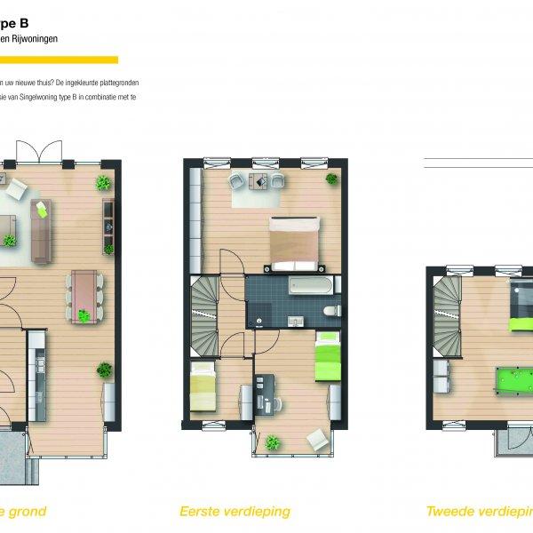 Singelwoning - Tussenwoning, bouwnummer 24