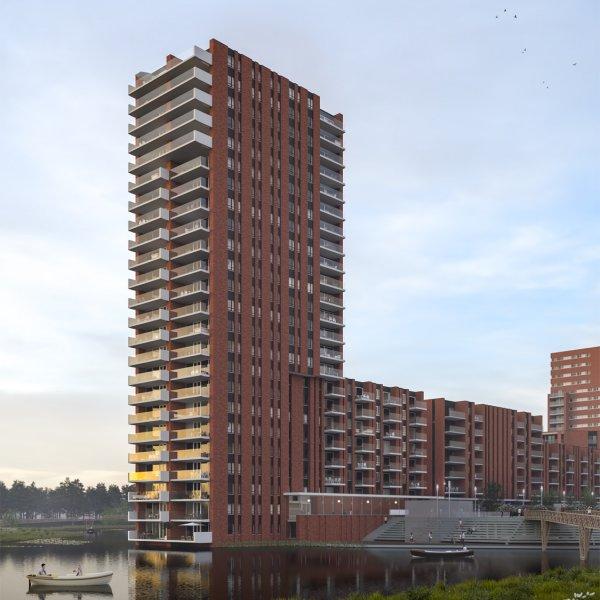 4-kamer appartementen, bouwnummer 201