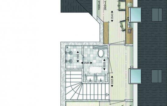 Atelierwoning, bouwnummer 2