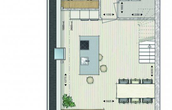 Maisonette Papenstraat, bouwnummer 4