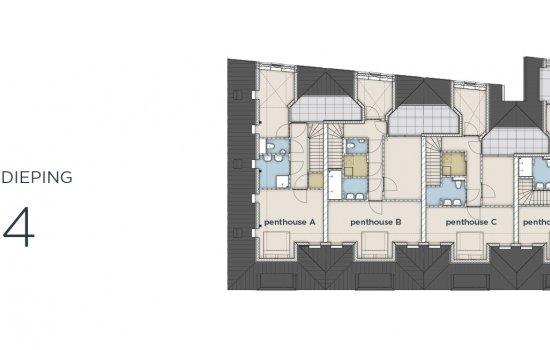 Appartementen Papenstraat, bouwnummer 6