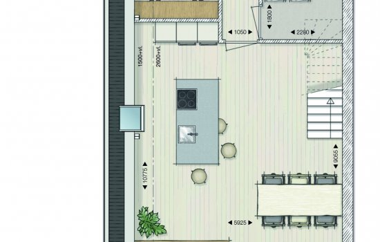 Appartementen Papenstraat, bouwnummer 8