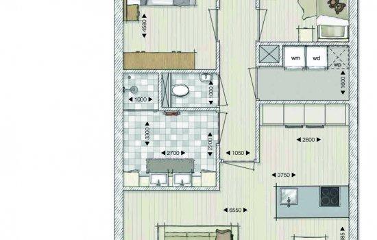 Appartementen Papenstraat, bouwnummer 9
