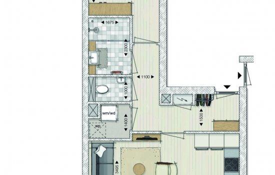 Appartementen Papenstraat, bouwnummer 10
