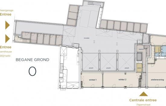 Appartementen Papenstraat, bouwnummer 11