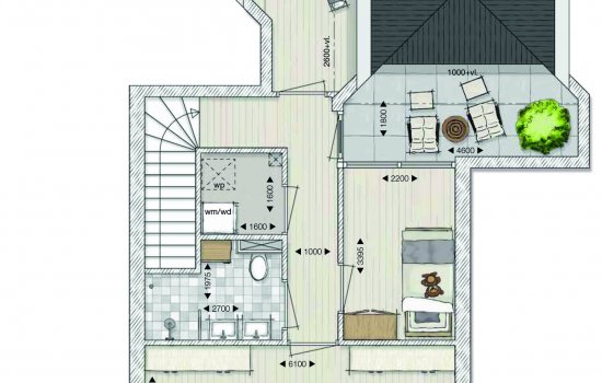Penthouse, bouwnummer 13