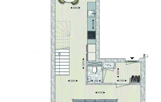 Penthouse, bouwnummer 14