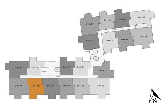 Appartement, bouwnummer 15