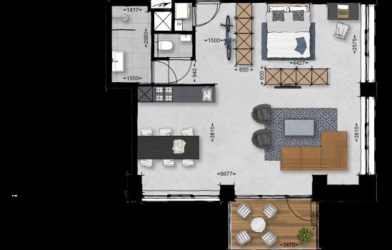 Appartement, bouwnummer 40