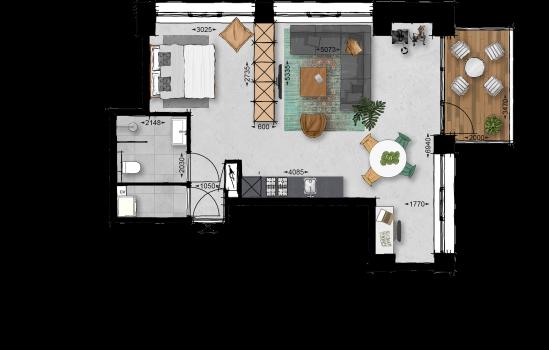 Appartement, bouwnummer 45