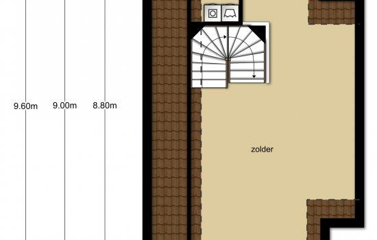 Twee-onder-één-kapwoning Type Lavendel, bouwnummer 141