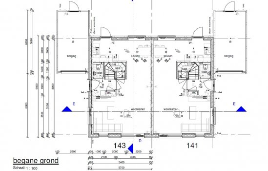 Twee-onder-één-kapwoning Type Lavendel, bouwnummer 143