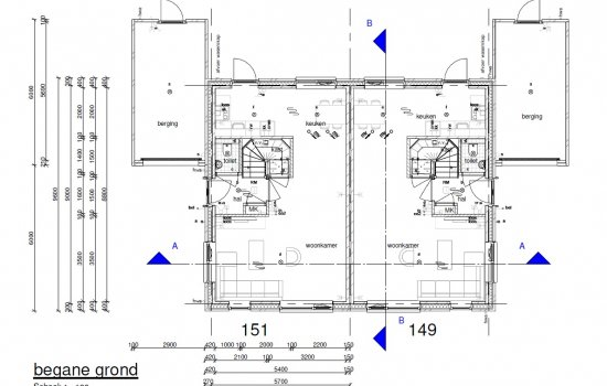Twee-onder-één-kapwoning Type Lavendel, bouwnummer 151
