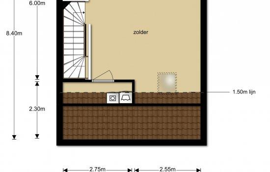 Rijwoningen type Kervel, bouwnummer 20