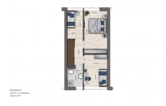 Tussenwoningen type B1 | Berckelbosch, bouwnummer 664