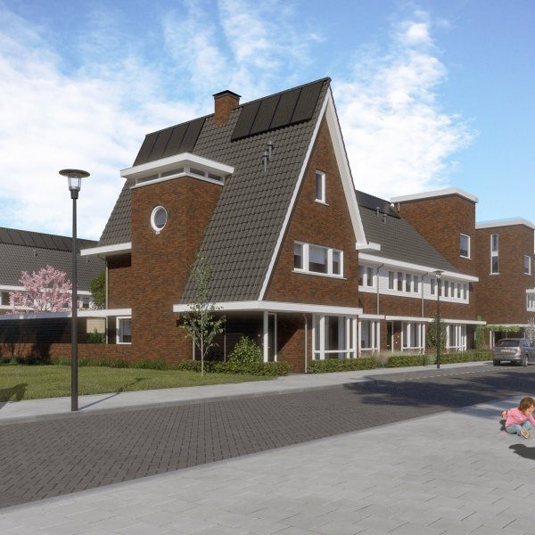 Tussenwoningen type B1   Berckelbosch, bouwnummer 666