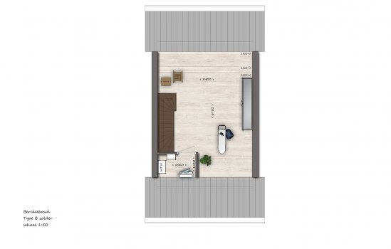 Tussenwoningen type B1 | Berckelbosch, bouwnummer 634