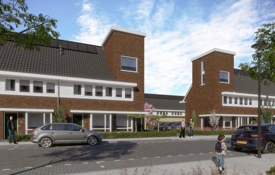 Tussenwoningen type B1   Berckelbosch, bouwnummer 633