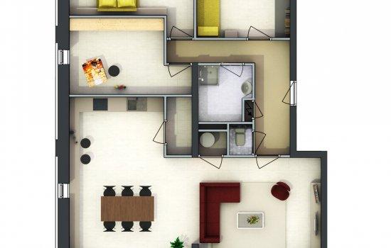 Appartementen, bouwnummer 12