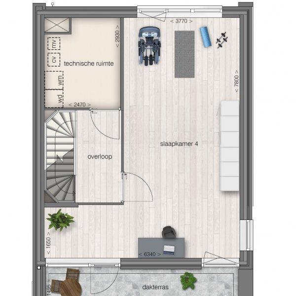 Vrijstaande woning, bouwnummer 16