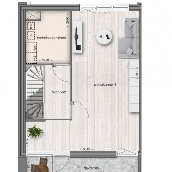 Vrijstaande woning, bouwnummer 17