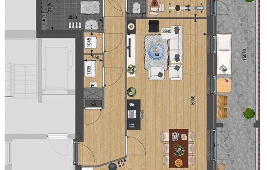 Appartement, bouwnummer 12