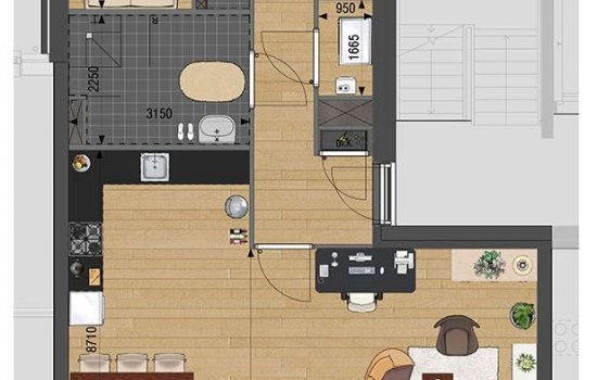 Appartement, bouwnummer 17