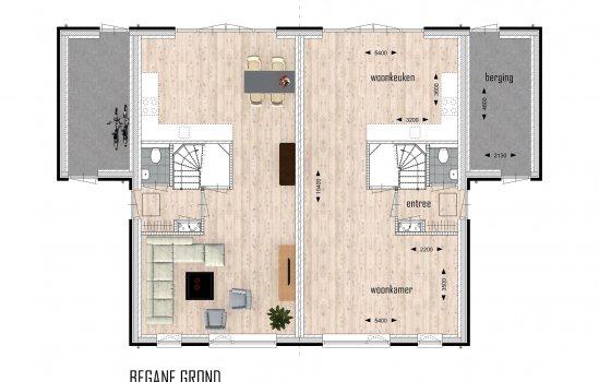 Woolderpark twee-onder-een-kapwoningen, bouwnummer 4
