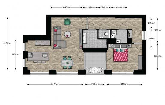 Appartement, bouwnummer 5
