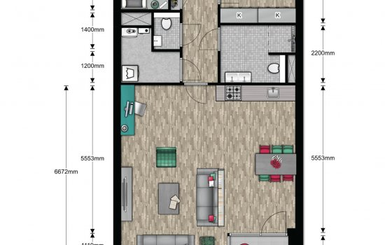 Appartement, bouwnummer 10
