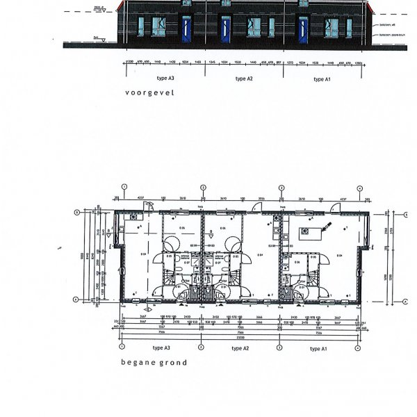 Hoekwoning A, bouwnummer 1