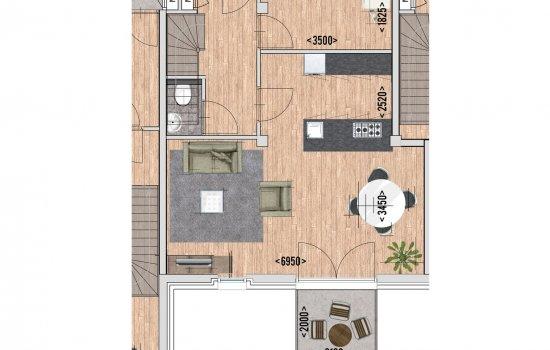 9 huur appartementen, bouwnummer 4